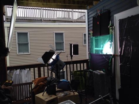 The outdoor setup for Still Hope For Loveless