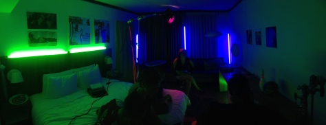 pano of hotel room for verb shoot